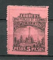 Kolumbien Boyaca Nr.10 A          *  Unused        (702) - Colombia