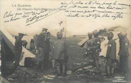 GUERRE 1914-18 - Les Troupes Anglo-indiennes En France, Croix Rouge. - War 1914-18