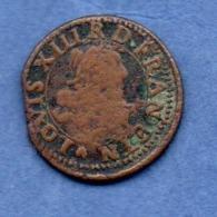 Louis XIII  -  Denier Tournois  1631 H   -  TB  -- Très Rare - 987-1789 Geld Van Koningen