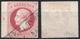 "Hannover Nr. 14 Gestempelt ""Bremervörde"" + RWZ - Hannover"