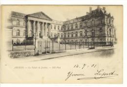 Carte Postale Ancienne Amiens - Le Palais De Justice - Tribunal - Amiens
