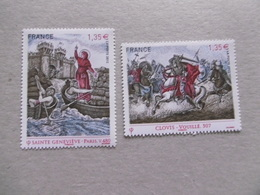 FRANCE 2012    P4704/4705  * *    TIMBRES ISSUS DU BLOC  LES GRANDES HEURES DE L HISTOIR - France