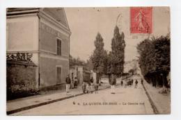 - CPA LA QUEUE-EN-BRIE (94) - La Grande Rue 1905 (belle Animation) - - La Queue En Brie