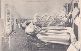 La Poesie. Excellent état Voyagée. Dos 1900 - Arts