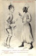 53-SERIE HUMORISTIQUE De La Guerre 14-18  -l'Officier Allemand Et Le Tirailleur  -ed. La C.P.A - Guerra 1914-18