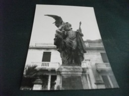 MONUMENTO AI CADUTI  BOGLIASCO GENOVA FOTO CARTONATA COME CARTOLINA - Monumenti Ai Caduti