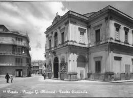 PUGLIA - CORATO - PIAZZA MARCONI - TEATRO COMUNALE - VIAGGIATA 1961 - Other Cities