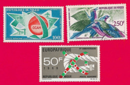4406  --  REPUPLIQUE DU NIGER  Poste  Aérienne -  Lot De Timbres PA Neufs + Oblitérés - Niger (1960-...)