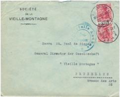 LETTRE DE PRUSSISCH - MORESNET TIMRE NR69 EN PAIRE - Briefe U. Dokumente