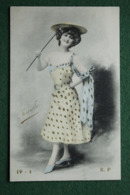 Carte Postale Ancienne Photo Repeinte - ACTRICE  Marville - Ref : IV - 1 E.P. - Photos