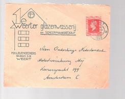 1e Weerter Glazenwasserij Schoonmaakbedrijf  Weert Leijendeckers 5.7.45 > Ned. MOLEST Verzek. Mij (oorlogsclaims) (FM-21 - 1891-1948 (Wilhelmine)
