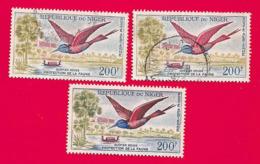 4408  --  REPUPLIQUE DU NIGER  Poste  Aérienne - N°PA 21 (3x)  Oblitérés - Niger (1960-...)
