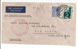 Katapult Post 's Gravenhage>Brasil 11.5.39 Flug 748.Deutsche Luftpost Europa-Süd Amerika - Luchtpost