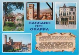 BASSANO DEL GRAPPA - VEDUTINE MULTIVUES - VIAGGIATA 2000 - Italia