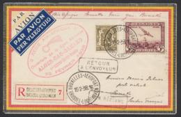 PA4 + N°420 Sur Lettre En R Par Avion De Bruxellles-aeroport (Theux, 1938) Vers Bamako (Soudan Français) / Non Réclamé - Luftpost
