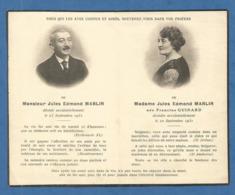 GENEALOGIE FAIRE PART DECES  MARLIN GUINARD DECES ACCIDENTEL 1931 - Décès