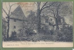 CPA Dos Simple - HAUTE GARONNE - CHATEAU DE BARBAZAN - A. Regnault Fils éditeur - Barbazan
