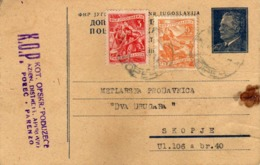Yugoslavia - Porec Istra - Croatia - Postal Stationery - 1952 Tito - - Entiers Postaux