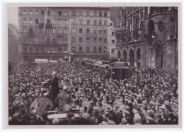 DT- Reich (002168) Propaganda Sammelbild Deutschland Erwacht Bild 26, Nationale Revolition In München 1923 - Deutschland
