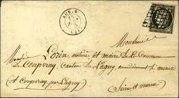 Grille / N° 3 Belles Marges Càd T 15 AUBIN (11). 1849. - TB / SUP. - 1849-1850 Ceres