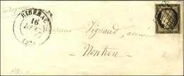Grille / N° 3 Càd T 13 RIBERAC (23). 1849. - TB. - 1849-1850 Ceres