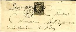 Grille / N° 3 Leg Def Càd T 15 PONT-DE-SALARS (11) Cursive 11 / Salles-Curan. 1850. - TB. - R. - 1849-1850 Ceres