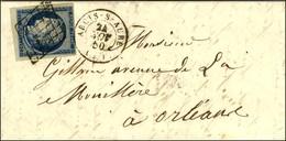 Grille / N° 4 Petit Bdf Càd T 15 ARCIS-S-AUBE (9). 1850. - TB / SUP. - 1849-1850 Ceres