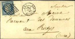 Grille / N° 4 Càd BAR-S-SEINE (9). 1850. - TB / SUP. - 1849-1850 Ceres