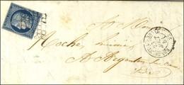 Grille / N° 4 Leg Def Càd T 15 BENEVENT L'ABBAYE 22. 1851. - TB. - 1849-1850 Ceres