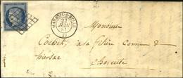 Grille / N° 4 Càd T 15 MAREUIL-S-BELLE 23. 1851. - TB / SUP. - 1849-1850 Ceres