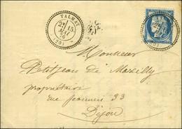Càd T 24 TALMAY (20) / N° 60 (remplaçant D'Obernai). 1876. - SUP. - 1871-1875 Ceres