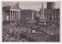 DT- Reich (002180) Propaganda Sammelbild Deutschland Erwacht Bild 121, Hunderttausende Sind Am 21.3.1933 Zum Feierlichen - Deutschland