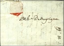 '' Deb De Draguignan '' Sur Lettre Avec Texte Daté 1788. - TB. - Storia Postale