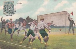 Football Anglais. Goal - Voetbal