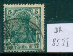 DR 1915  MiNr. 85 II     O / Used  (L809) - Alemania