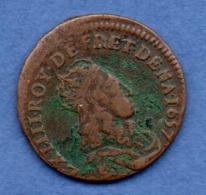 Liard De France  -  1657 G -  TB+ - 1643-1715 Louis XIV Le Grand
