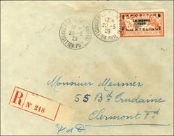 Càd LE HAVRE / EXPOSITION PHILATELIQUE / N° 257A Sur Lettre Recommandée. 1929. - TB / SUP. - R. - Non Classificati