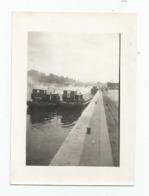 Photographie Bateau  Péniches Péniche Nommée Photo 7,5x10,5 Cm - Schiffe