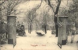 11752016 Gand Belgien Dooresele En Hiver - Other