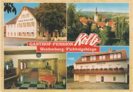 AK Weidenberg Gasthof Pension Kolb A Fischbach Lessau Stockau Ützdorf Seybothenreuth Warmensteinach Goldkronach Bayreuth - Bayreuth