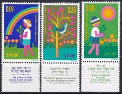 ISRAEL 1975 Mi-Nr. 629/31 ** MNH - Ongebruikt (met Tabs)