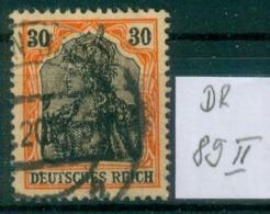DR 1915  MiNr. 89 II     O / Used  (L813) - Alemania