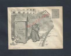 MILITARIA LETTRE ILLUSTRÉE COLLECTION GRAVELLE : - Postmark Collection (Covers)