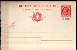 "Italy,Levant Offices,postal Stationery Overprint ""La Canea""mint,as Scan - 11. Oficina De Extranjeros"
