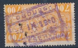 "TR 159 -  Cachet Mauve ""OBOURG - RESERVE"" -  (ref. 29.503) - 1923-1941"