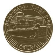 Monnaie De Paris , 2019 , Lorient , Sous-marin Flore S-645 - Monnaie De Paris