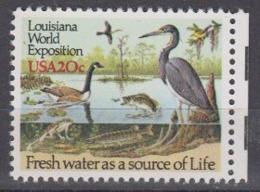 USA 1984 Louisiana World Exposition 1v ** Mnh (45004B) - Ongebruikt
