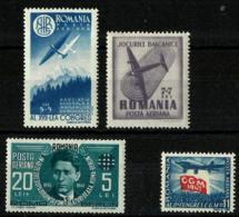 Rumanía A-43/5 Y A-31 Nuevos. Cat.10,50€ - Nuevos