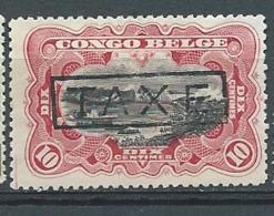 Congo Belge   Taxe  - Yvert N° 28 (*) Neuf Sans Gomme  - Ava 28232 - Congo Belga