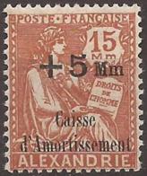 Alexandrie YV 83  Neuf Sans CharnièreTB - Alexandrie (1899-1931)